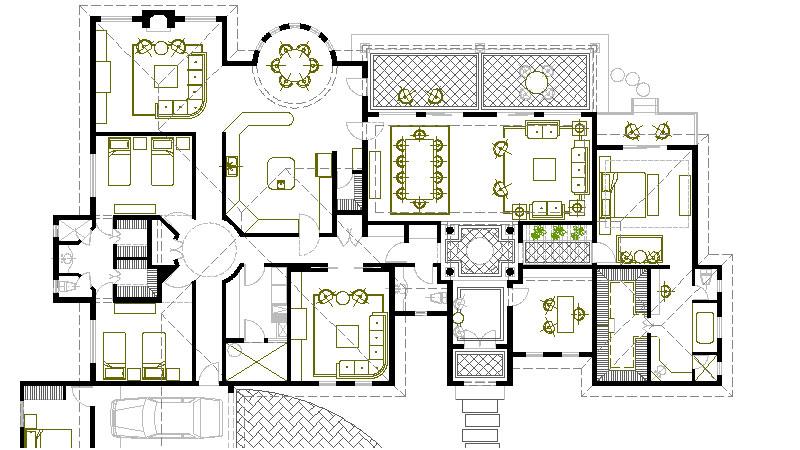 Planos de casas planos arquitectonicos planta for Tecnicas de representacion arquitectonica pdf