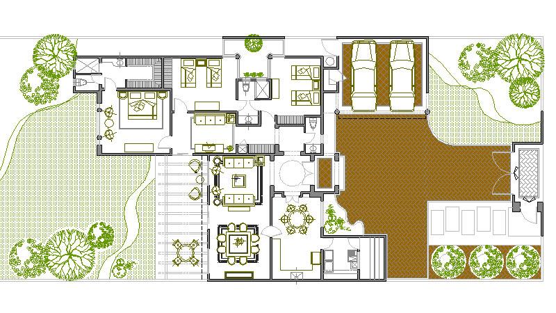 Planos de casas planos arquitectonicos planta for Planos arquitectonicos de casas